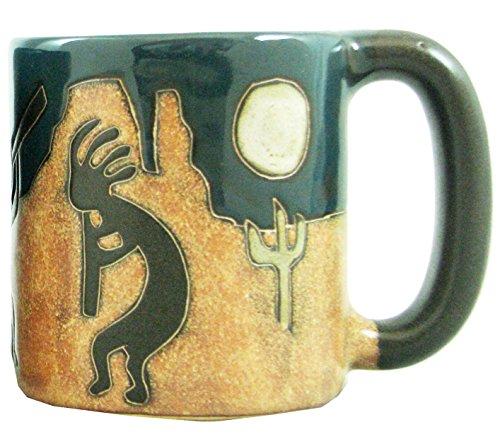 Mara Stoneware Mug - Desert Kokopelli - 16 oz