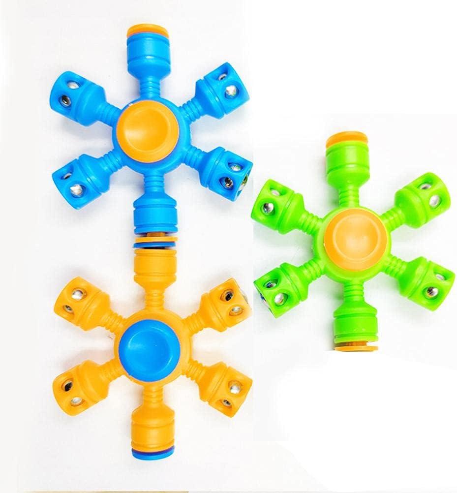 Branded half goods TOYHAO 3 Pack Plastic Fidget Spinning Steel Spe Top Bearing High