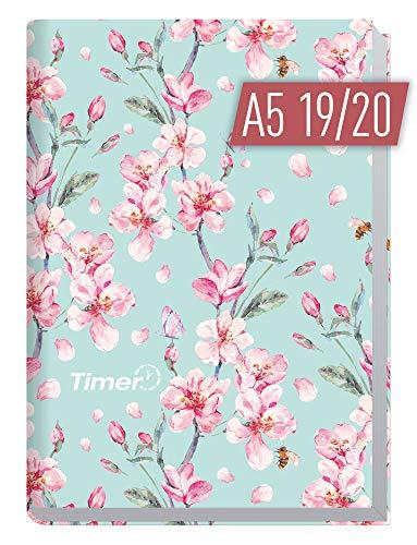 Chäff-Timer Classic A5 Kalender 2019/2020 [Floral] Terminplaner 18 Monate: Juli 2019 bis Dezember 2020   Wochenkalender, Organizer, Terminkalender mit Wochenplaner - Top organisiert durchs Jahr!
