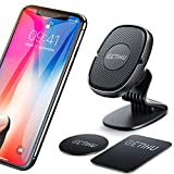 GETIHU Car Phone Holder, 360° Dashboard Mobile Phone Holders for Cars, Universal Magnetic