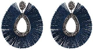 Women Stud Earrings, Silver,Tassel Earrings,E