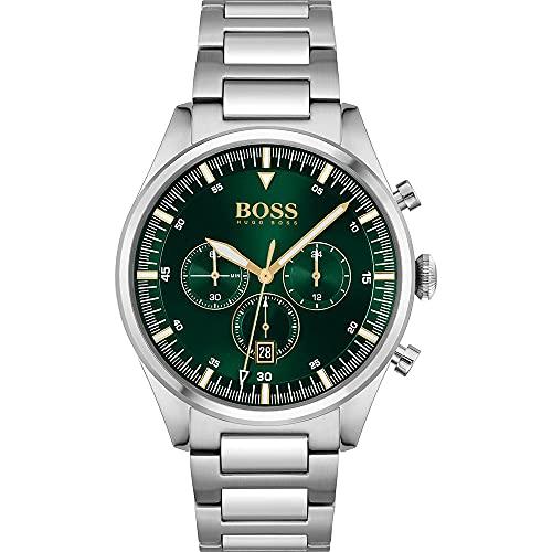 Hugo BOSS Reloj para de los Hombres de Cuarzo con Correa en Acero Inoxidable 1513868