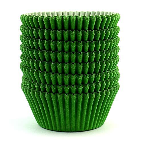 Eoonfirst Standard Size Baking Cups 200 Pcs (Green)