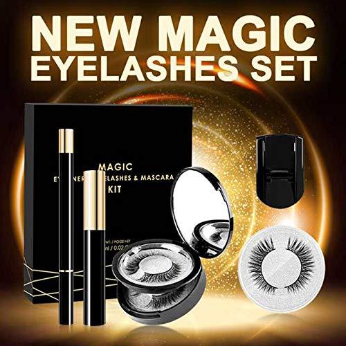 ZA Hurricane Magnetische Wimpern mit Eyeliner plus Mascara Kit