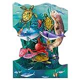 Santoro 3D Swing Karte – Unterwasserwelt