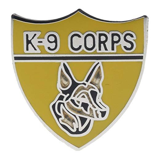 K-9 Corps Insignia Hat or Lapel Pin HON14709 F3D26N
