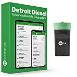 Heavy Duty Scan Tool   Detroit Diesel Engines 2007 – 2021   Read Fault Codes   Check Engine Lights   MIL   Aftertreatment Lights   Diagnostic Scan Tool   OTR Diagnostics
