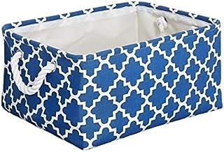 HXSD New Folding Storage Basket Foldable Linen Storage Box Bins Fabric Organizer Organize Office Bedroom Closet Toys Laund...