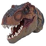 Zerodis Marioneta de Mano de Dinosaurio, Juguete de Dinosaurio Realista de plástico 3D Gran marioneta interactiva Presente de cumpleaños para niño Infantil(#1)
