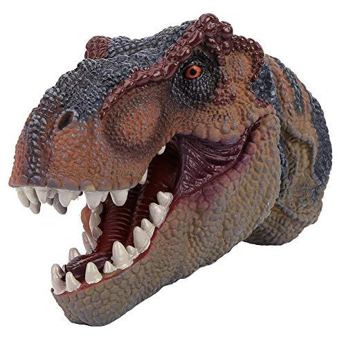 Zerodis Dinosaurier Handpuppe großes realistisches Dinosaurier Spielzeug Halloween Handpuppen Geburtstags 3D Plastikgeschenk für Kinderkind(#1)