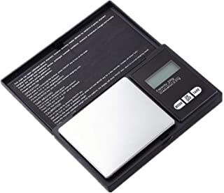Jan STORE 200g 0.01g LCD Digital Pocket Scale Jewelry Gold Gram Balance Weight Scale Gram Small Precision Electronic Scale (200g/0.01g)