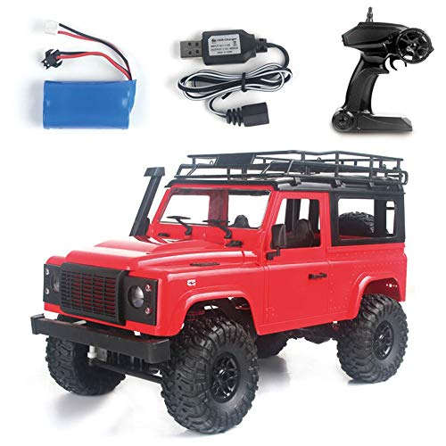 Mobiliarbus RC Car MN-D90 Rock Crawler 1/12 4WD 2.4G Remote Control High Speed Off Road Truck RC Car Led Light RTR for Kids