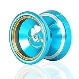 MAGIC MagicYoYo M001 Silencer Aluminum Yo-Yo (Blue)