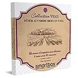 SMARTBOX - coffret cadeau couple - Dîner accords mets et vins - idée cadeau originale - 1 dîner accords mets et vins pour 2 personnes