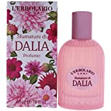 L'Erbolario - Shades of Dahlia - Perfume Spray for Women - Citrus, Floral Scent - Feminine, Fascinating Aroma - Dermatologically Tested - Cruelty Free, 1.6 Oz