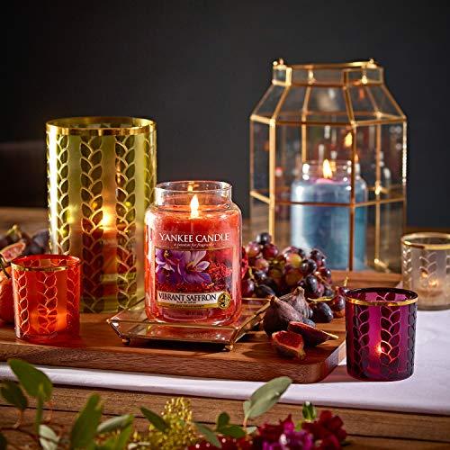 Yankee Candle Candela Grande Vaso, Zafferano Vibrante