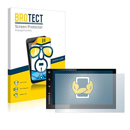 BROTECT Schutzfolie kompatibel mit Newsmy CarPad 2s NU3001 (2 Stück) klare Displayschutz-Folie