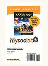 MySocLab with Pearson eText -- Standalone Access Card -- for Essentials of Sociology (9th Edition) (Mysoclab (Access Codes))