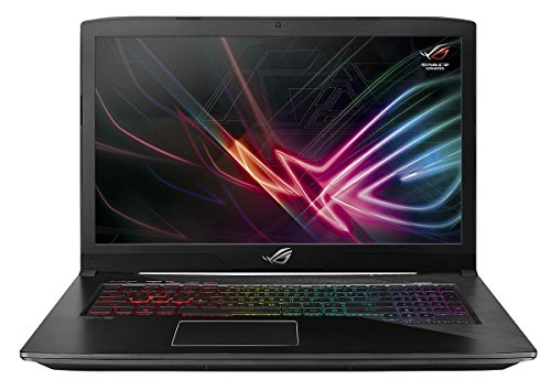 ASUS ROG Strix Scar Edition GL703GE-PS71 Gaming Laptop (8th Gen Intel Core i7-8750H, 8GB RAM, 256GB NVMe SSD, NVIDIA GTX 1050 Ti 4GB, 17.3' FHD 120Hz 3ms, Windows 10) Ultimate Gamer Notebook Computer