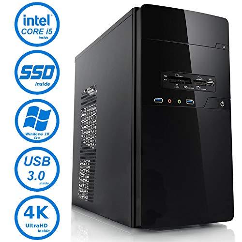 Master-PC Intel i5-8500, 8GB DDR4, 256GB SSD + 2TB HDD, Windows 10 Pro.