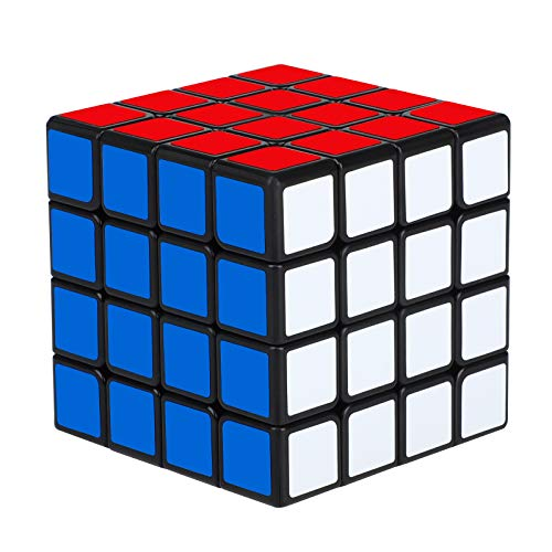 Yordawn Zauberwürfel 4x4 Speedcube 4x4x4 Magic Cube Zauber Würfel für Erwachsene Kinder Anfänger Profis Jugendlichen mit PVC Aufkleber