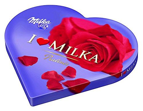 Milka I Love Geschenkherz 187g