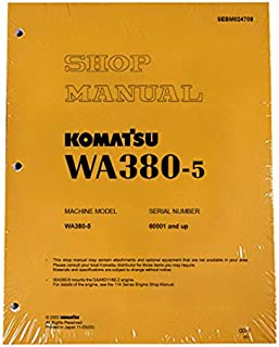 Komatsu WA380-5 Wheel Loader Service Repair Manual