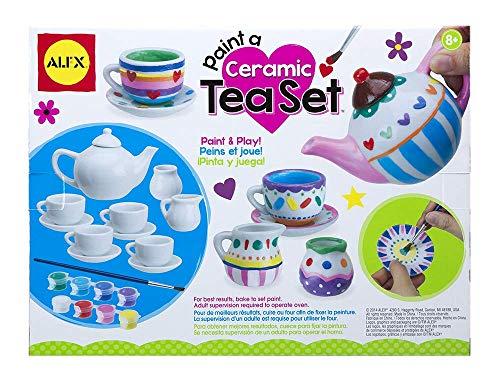 Alex Craft Paint A Ceramic Tea Set Kids Art and Craft Activity