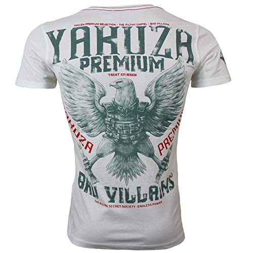 Yakuza Premium Herren T-Shirt 2901 Natur weiß Größe XXL