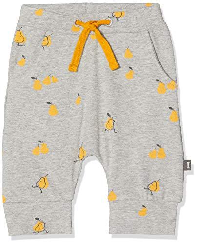 Imps & Elfs Pants Pantalon, Gris (Grey Mélange AOP Pears P347), 95 (Taille Fabricant: 80) Mixte bébé