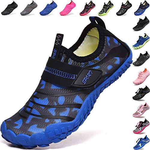 Lvptsh Zapatos de Agua para Niños Zapatos de Playa Secado Rápido Descalza Escarpines de...
