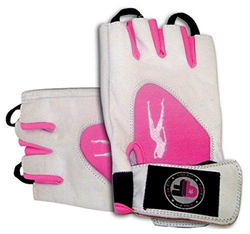 Biotech USA Guantes en colour rosa, todo el año, color  - Grau - Pink, tamaño extra-large
