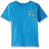 Lucky Brand Little Boys' Short Sleeve Graphic Tee Shirt, Wanted Bear Campanula, 7