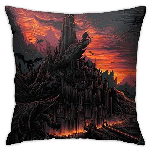 wteqofy The Lord Of The Rings Pillow Case Friend Holding Pillowcase Cushion Cover Family Sofa Bedroom Decorative Pillow Case 45 X 45cm