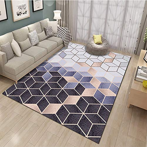 WZJ-CARPET Modern Indoor Soft and Comfy Area Rugs Suitable for Living Room,Bedroom, Dining Room and Nursery Rugs (Color : C, Size : 2.6'x3.9')