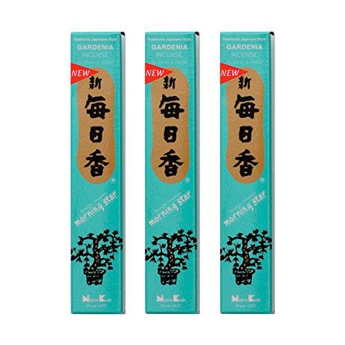 Terre Zen Lot de 3 unités Morning Star Gardenia 50 encens Taille Unique