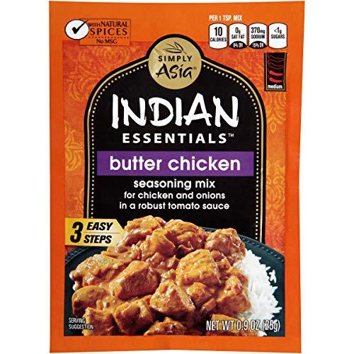 Indian Essentials Butter Chicken Seasoning Mix, 0.9 oz (Pack of 12)