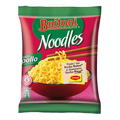 Maggi Noodles Gusto Pollo Noodles Istantanei e Condimento al Gusto Pollo, 10 Confezioni da 71 g, 10 Porzioni