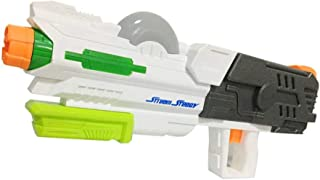 Water Blaster,Hamkaw 2700CC Large Foam Squirt Gun 39FT Long Range Water Soaker Summer Outdoor Pool Beach Bath Water Fight Shooter Toys for Kids Toddlers Boys Girls Adults - 23.22 X 99.84in