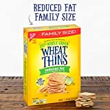 Wheat Thins Reduced Fat Whole Grain Wheat Crackers, Family Size, 6 - 14.5 oz Boxes