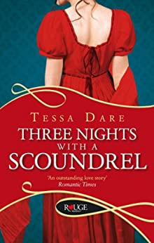 Three Nights With a Scoundrel: A Rouge Regency Romance (The Stud Club Series Book 3) by [Tessa Dare]