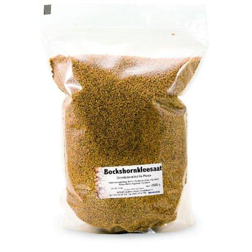 Natusat Bockshornkleesamen 3 kg, Ergänzungsfutter für Pferde
