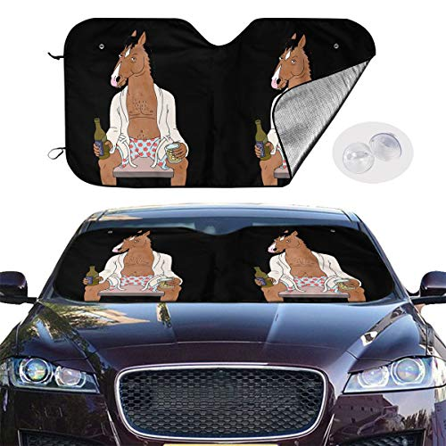 Sale!! Zengqinglove BoJack Horseman Universal Fashion Car Windshield Visor