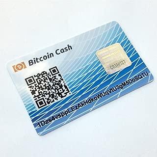 Card Wallet Bitcoin Cash PVC Plastik Giftcard Safe Offline Cold Storage Paper Wallet …