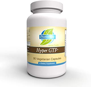 Priority One Vitamins Hyper GTF 90 Vegetarian Capsules - Designed to Maintain Optimal Blood Sugar Levels and Support Cellu...