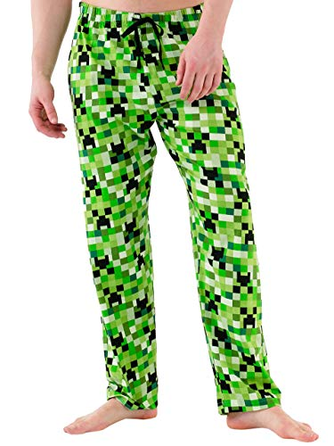 Minecraft Mens Lounge Pant Size Small