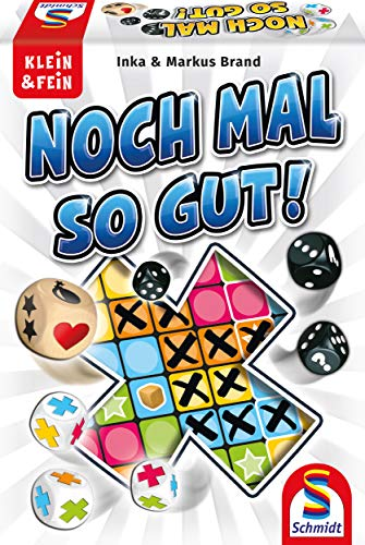 Schmidt Spiele 49365 Noch mal so gut, Würfelspiel aus der Serie Klein & Fein, bunt