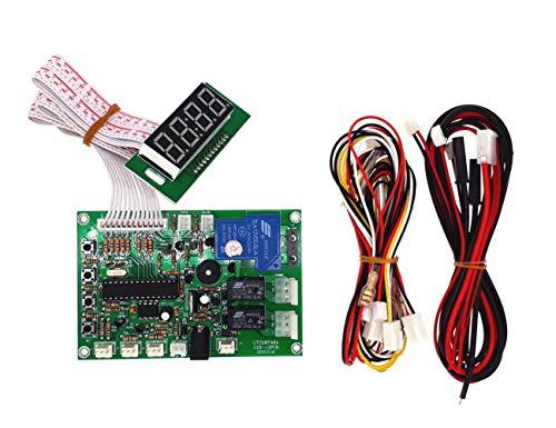 JY Electronic JY-141 con Monedero de Control de Tiempo de Cambio de Moneda de alimentación para selector de aceptador de Monedas, Bomba de Agua, Lavadora, sillón de Masaje