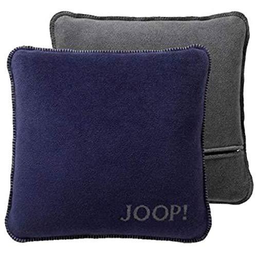 biederlack JOOP!Kissen Uni-Doubleface Kissenbezug Farbe Marino-Schiefer Größe 50x50 cm