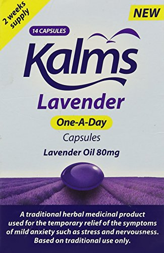 Kalms Lavender One-A-Day Capsules - Pack of 14